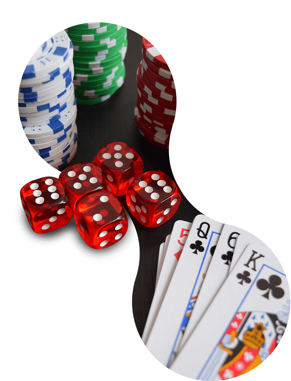 Poker-bobbel-stock